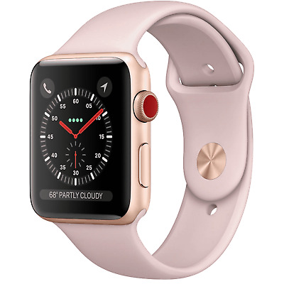 Apple Watch Series 3 42mm GPS - Gold - Pink Sport Band