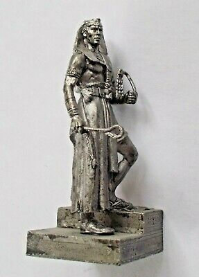 "1/32 Ramesses II Pharaoh of Egypt Tin Metal Soldier handmade 54 mm / 2,1"" NEW"
