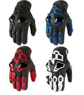 Icon Hypersport™ Short Gloves Motorcycle Street Riding -Free exchanges & returns