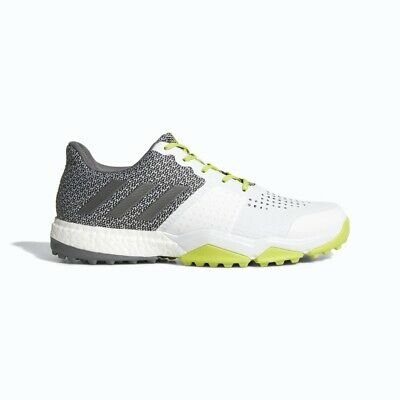 New Men'sAdidas Adipower Sport Boost 3 Golf Shoes White Q44884 - Pick A Size