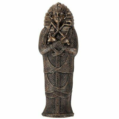 Ancient Egyptian Artifact Collectible King Tut Sarcophagus Coffin w/ Mummy...
