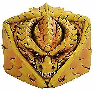 Pacific Giftware PT Yellow Winged Dragon Figurine Stash Decorative Boxes