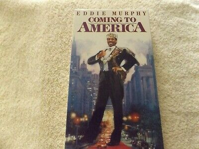 Vhs Coming To America Ed Murphy Rated R Paramount