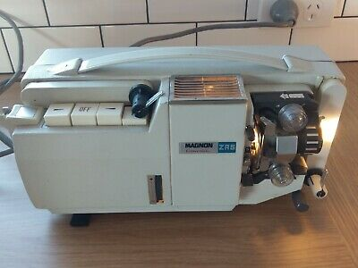 Vintage Magnon Zrs 800 Projector In Carry Case