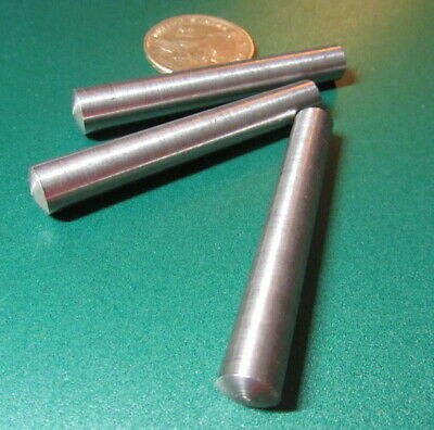 Metric Steel Taper Pins 9.2 mm Large End x 8 mm Small End x 60 mm Long, 5 Pcs