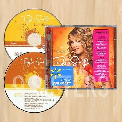 TAYLOR SWIFT Beautiful Eyes EXCLUSIVE CD+DVD Previously Unreleased I HEART  1001