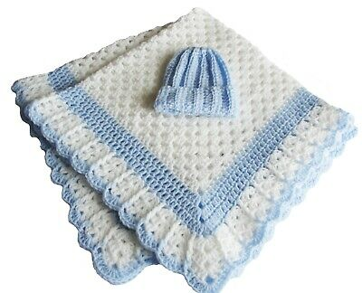Just Right4 Baby Soft Cuddly Crocheted Washable Blanket Crib Stroller Car Seat