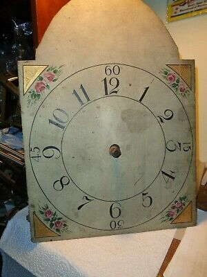 Antique-American-Wooden Works-Grandfather Clock Movement-Ca.1820-ToRestore-#T846