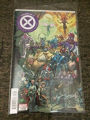 HOUSE OF X 6 JAVIER GARRON CONNECTING Variant NM 2019 Powers of Hickman