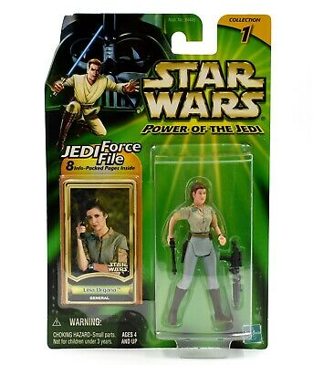 Star Wars Power of The Jedi - Princess Leia Organa (General) Action Figure