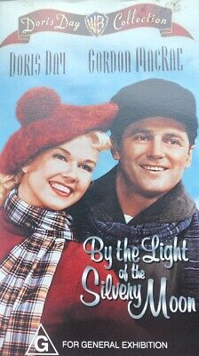 Doris Day - By The Light of the Silvery Moon - PAL VHS Video Tape