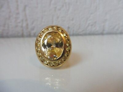 Classy, Old Ring __925 Silver Plated__with Geschliffem with Stones __ 20, 7Gramm