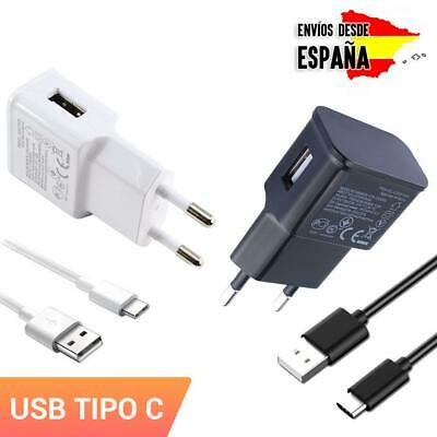 Cargador de repuesto para móvil USB universal enchufe pared +  adaptador tipo C