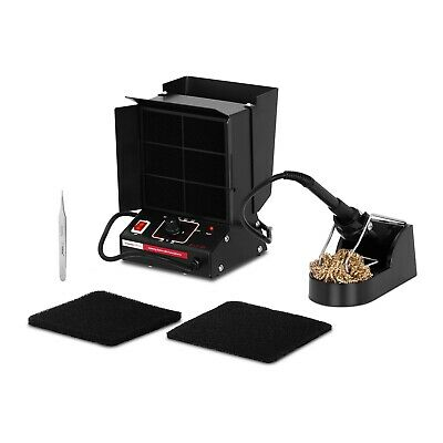 Soldering Station With Fume Extractor Soldering Fume Ventilation Filter Absorber