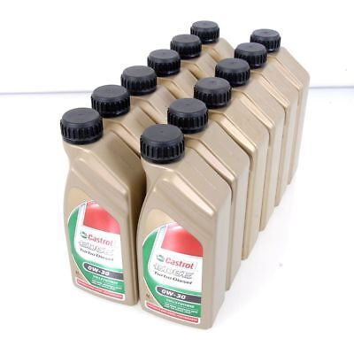 12 Litre Castrol Edge Turbo Diesel 0W-30 Fully Synthetic Longlife