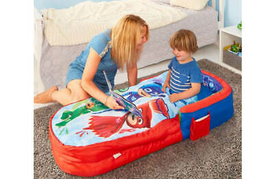 NEW PJ Masks My First ReadyBed Inflatable Sleeping Bag & Pump Kids Airbed