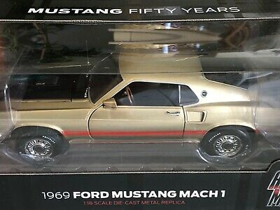 Auto World 1969 Ford Mustang Mach 1 50 Years 1:18