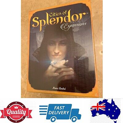 Cities Of Splendor Expansions Game, Contains 4 Separate Expansions, AU Stock