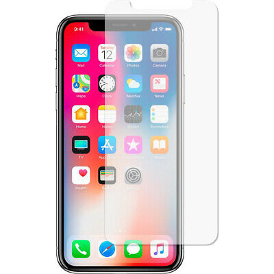 Screen Protector For Apple iPhone X -Tempered Glass *100% Genuine