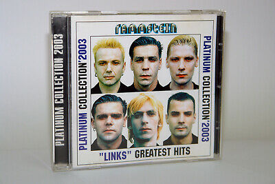 """Rammstein – Platinum Collection '2003 - """"Links"""" Greatest Hits, VG+"""