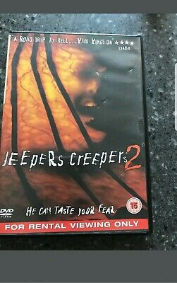 Jeepers Creepers 2 (DVD, 2004) very good