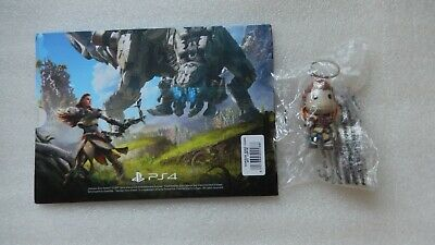 Horizon Zero Dawn PS4 ALOY Keyring Sackboy/SackGirl Figure + Post/Art Card PS4