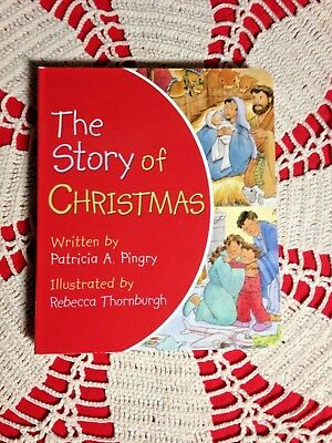 The Story of Christmas by Patricia A. Pingry, Hardcover & page for Toddlers & Up