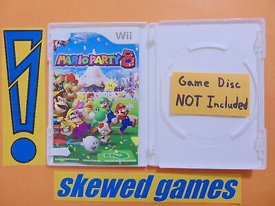 Mario Party 8 - Case Manual and Inserts Only - Wii Nintendo