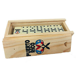 Puerto Rico Maracas Double Six Mini Dominoes FREE SHIPPING Dominos