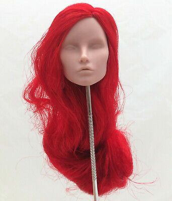 Fashion Royalty elyse Elise Jolie blank face red hair integrity female doll head