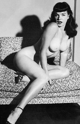 Vintage Bettie Page Photo 645 Oddleys Strange & Bizarre 4 x 6