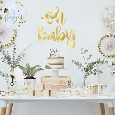 """Stunning """"Oh Baby""""Banner-Baby Shower Party Decorations-Oh Baby Theme!!"""