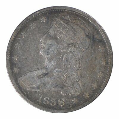 1838 Capped Bust Half Dollar Very Fine
