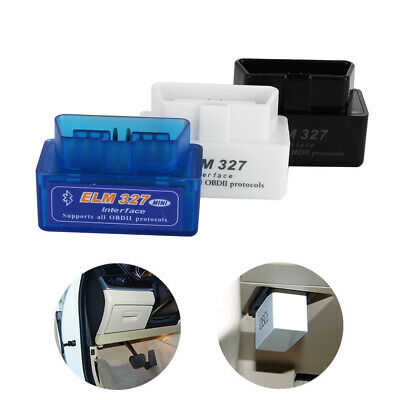 bluetooth mini outil d'analyse elm327 interface obd2 obdii diagnostic scanner.