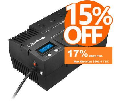 CyberPower BRICs Backup UPS 1000VA 600W 8 Outlet Surge Protect Power Supply Unit