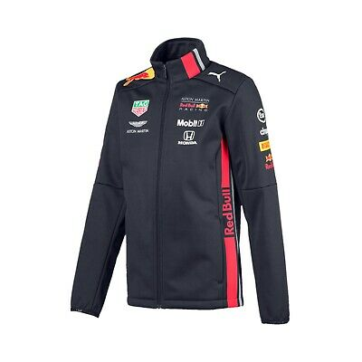 Aston Martin Red Bull Racing F1 Official Kids Team Softshell jacket - 2019 - 104