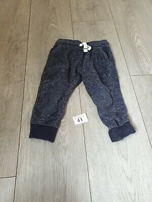 Baby Boys Blue Comfy Jogging Bottoms Age 2 Years