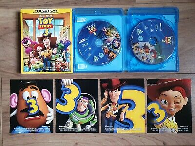 Toy Story 3 Blu-ray and DVD Combo, 2010 (Digital copy expired 2012)