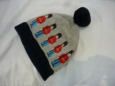 Cath Kids One Size Bobble Hat. Soldier Design