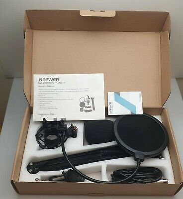Neewer Nw 700 Condenser Microphone Kit Boxed Streaming Bargain