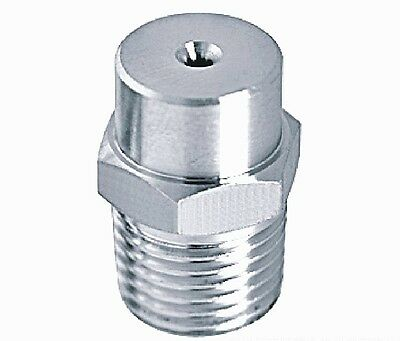 """5pcs New Stainless steel spray nozzle 1/4"""" bspt"""