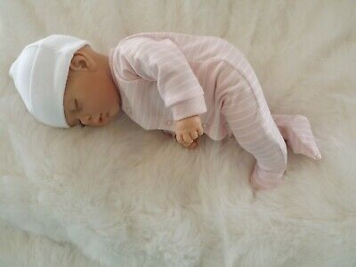 Sleeping Girl Reborn Handmade Realistic Doll Fake Baby Lifelike UK Seller # GYS