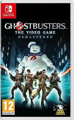 Ghostbusters The Video Game Remastered (NINTENDO SWITCH) NEW SEALED
