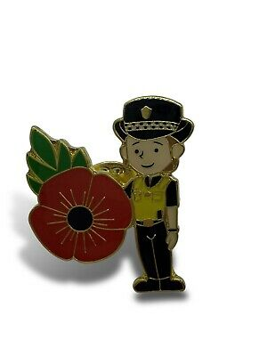Police Lady, Police Woman, WPC Female officer Poppy Pin Badge