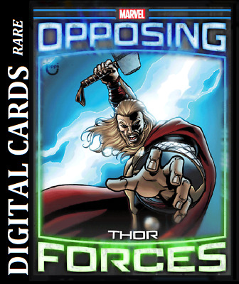 Topps Marvel Collect Card Trader Opposing Forces Thor Vs Hela