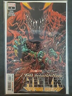 Absolute Carnage The Immortal Hulk #1 Marvel NM Comics Book
