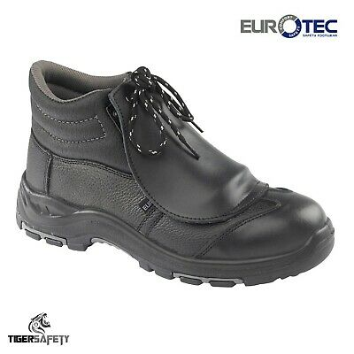Eurotec 530SM S1 SRC Black Metatarsal Protector Steel Toe Cap Mens Safety Boots