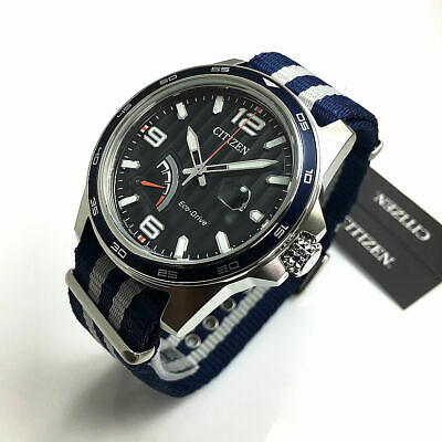 Men's Citizen Eco-Drive Military Style Watch AW7038-04L