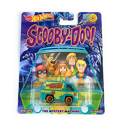 2019 Hot Wheels 1/64 Scooby-Doo The Mystery Machine Pop Culture Real Rider FYP69