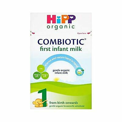 HiPP Organic Combiotic First Infant Milk 1 From Birth Onwards (Case of 4 x 80...